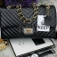 KEEP รุ่น KEEP shoulder chevron chain handbag thumbnail 1
