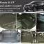 พรมปูพื้นรถยนต์ Honda H-RV ไวนิลสีดำ+กระดุมสีดำ พับเบาะ