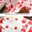 เดรสผ้าลูกไม้ถักพื้นสีขาว ลายดอกไม้สีแดง หน้าอกคาดด้วยผ้าถักโครเชต์สีขาว thumbnail 12