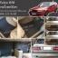 ยางปูพื้นรถยนต์ Volvo850 ลายจิ๊กซอร์สีเทา