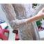 เดรสราตรียาวออกงานสุดหรู สีเทา แขนยาวสีส่วน ตัวชุดเป็นโปร่งแต่งด้วยดิ้นเล็กๆๆสีเงิน เป็นลวดลายดอกไม้ thumbnail 8