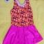 ชุดว่ายน้ำเด็กผู้หญิงสีส้มลายจุด กระโปรงสีชมพู สวย หวาน น่ารัก thumbnail 1