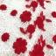เดรสผ้าลูกไม้ถักพื้นสีขาว ลายดอกไม้สีแดง หน้าอกคาดด้วยผ้าถักโครเชต์สีขาว thumbnail 16