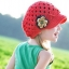 หมวกไหมพรมดอกไม้ สไตล์ยุโรป thumbnail 1