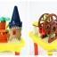 บล็อคตัวต่อ Block Table ชุดสวนสนุก 54 ชิ้น thumbnail 9