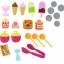 ชุดเก้าอี้ไอศกรีมพกพา Super Market Play Set 39 ชิ้น thumbnail 10