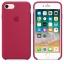 เคสซิลิโคน iPhone 7 / 8 สีแดงกุหลาบ ( Original ) thumbnail 2