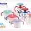 เซตถ้วยหลอดดูดกันสำลักพร้อมถ้วยฝึกดูด Richell Straw training mug & Clear straw bottle mug thumbnail 4