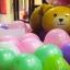 ลูกโป่งฟอร์ยรูปหมีสีทอง ขนาด 21.3x35.4 นิ้ว thumbnail 1