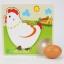 จิ๊กซอว์ไม้แม่ไก่ออกไข่ thumbnail 18
