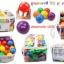 ลูกบอลหลากสี 100ลูก ขนาด 6ซม. INTEX thumbnail 3