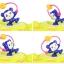 รถเข็นเด็กหัดเดิน ปรับโยกได้ลายลิง Camera Baby Walker thumbnail 3