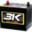 แบตเตอรี่รถยนต์3K Battery thumbnail 1