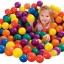 ลูกบอลหลากสี 100ลูก ขนาด 6ซม. INTEX thumbnail 5