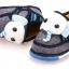 [รุ่นบุเนื้อนิ่ม ลายช้าง] รองเท้าเด็ก XTmiffy thumbnail 3