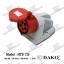 HTB 115 เพาเวอร์ปลั๊กเต้ารับติดลอย (3P+N+E) 5P/ 16A/380-415V ~/IP44