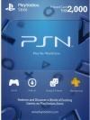 PSN Card Thai 2000 THB