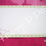 รหัส BB17 การ์ดแต่งงานโปรโมชั่น ( มี 2 สี )