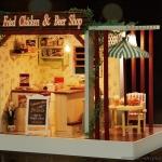 ฉาก DIY Fried Chicken & Bar Shop.