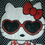 สินค้าหมดค่ะ!! เสื้อ เดรส คิตตี้ kitty ประดับคริสตัล ไซส์ xxl