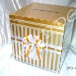 กล่องใส่ซองงานแต่ง กล่องรับซองแต่งงาน MB-nu08