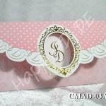 CMAD-03 การ์ดแต่งงานแบบเรียบหรู