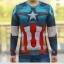 เสื้อกัปตันอเมริกา (แขนยาว) thumbnail 1