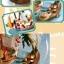 ฉาก DIY ลูกบอล (เรือซันนี่) วันพีช thumbnail 4