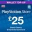 PSN Card UK £25 thumbnail 1