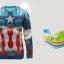 เสื้อกัปตันอเมริกา (แขนยาว) thumbnail 4