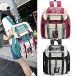 *Pre Order* กระเป๋าเป้แฟชั่น MCYS & JPN Yohji Kimura Canvas backpack High School -size 30x45x17 cm.