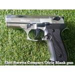 Ekol Baretta M9 Compact /Dicle Chrome Blank gun