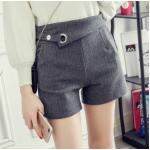 กางเกงขาสั้นแฟชั่นสวยๆ Collection มาใหม่ ต้อนรับ 2017 SET1 - แบบ 2 เทา