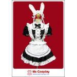 ชุดเมดกระต่าย Rabbit Maid Costume สีขาวดำ Size M