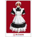 ชุดเมดโตเกียวแองเจิล Tokyo Angel Maid Costume สีดำ Size 4L