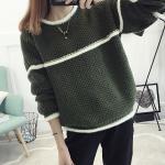 เสื้อกันหนาวแฟชั่น สีสันสวยๆ โดนๆ กับดีไซน์คลาสสิคที่ใส่ได้ทุกยุค อุ่นแน่นอนยามสวมใส่ - เขียว