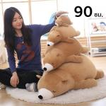 หมีขี้เซา สีช็อคโกแล็ต 90 ซม.