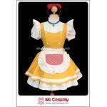 ชุดเมดโดเรมี่ Doraemi Maid Costume สีเหลือง Size M