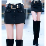 กางเกงขาสั้น แฟชั่นโดนๆ ที่สาวๆขาเรียวสวยไม่ควรพลาด - ดำ