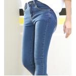 กางเกงยีนส์ขาเดฟ เข้ารูป ผ้านิ่ม ใส่สบายๆ ให้ความคล่องตัวสูง - ยีนส์