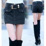 กางเกงขาสั้น แฟชั่นโดนๆ ที่สาวๆขาเรียวสวยไม่ควรพลาด - เทา