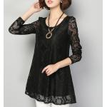 collection เสื้อลูกไม้สีดำ มีให้เลือกหลายแบบ - 9088