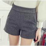 กางเกงขาสั้นแฟชั่นสวยๆ Collection มาใหม่ ต้อนรับ 2017 SET2 - แบบ 4 เทา