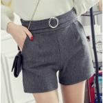 กางเกงขาสั้นแฟชั่นสวยๆ Collection มาใหม่ ต้อนรับ 2017 SET1 - แบบ 1 เทา