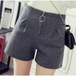 กางเกงขาสั้นแฟชั่นสวยๆ Collection มาใหม่ ต้อนรับ 2017 SET2 - แบบ 3 เทา