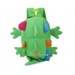 lizard kid backpack color : green