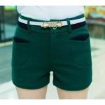 กางเกงขาสั้น แฟชั่นโดนๆ ที่สาวๆขาเรียวสวยไม่ควรพลาด - เขียว