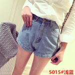 กางเกงยีนส์ขาสั้นแฟชั่น มีให้เลือกหลายแบบ set 1 - 5015 ยีนส์ซีด