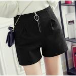 กางเกงขาสั้นแฟชั่นสวยๆ Collection มาใหม่ ต้อนรับ 2017 SET2 - แบบ 3 ดำ