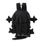 lizard kid backpack color : black